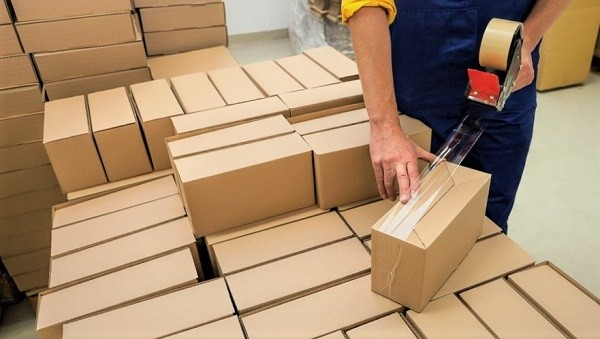 emballage du carton
