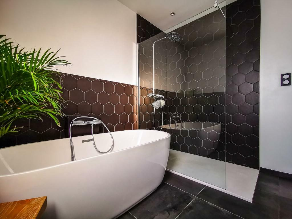 salle de bain peinture